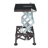 Motorsport Products MX Scissor Lift Stand Black