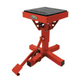 Motorsport Products P-12 Adjustable Lift Stand Red