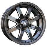 Motosport Alloys M25 Rocker Wheel