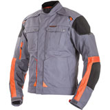 Motorfist Ranger Jacket Grey/Orange