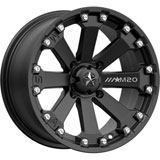 MSA M20 Kore Wheel Flat Black