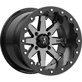 MSA M21 Lok Beadlock Wheel Machined/Black