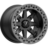 MSA M31 Lok2 Beadlock Wheel Satin Black
