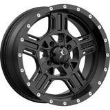 MSA M32 Axe Wheel Satin Black