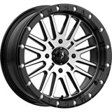 MSA M37 Brute Beadlock Wheel Black/Machined