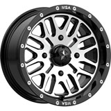 MSA M38 Brute Wheel Black/Machined