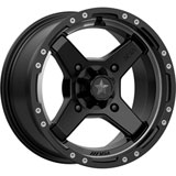 MSA M39 Cross Wheel Satin Black/Titanium Tint