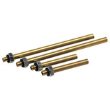 Motion Pro SyncPro Carb Tuner 5mm Brass Adapters - Set of 4, Honda/Suzuki