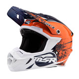 MSR Youth SC1 Grit Helmet Blue/Orange