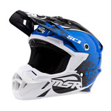 MSR Youth SC1 Grit Helmet Blue/White