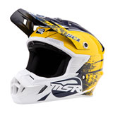 MSR Youth SC1 Grit Helmet Blue/Yellow