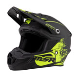 MSR Youth SC1 Grit Helmet Matte Black/Flo Green