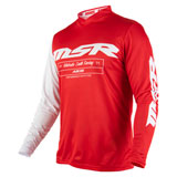 MSR Axxis Jersey 19.5 Red/White