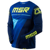 MSR NXT Preload Jersey Blue/Flo Green
