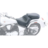 Mustang Wide Touring Studded Motorcycle Seat