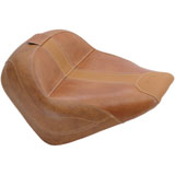 Mustang Vintage Solo Motorcycle Seat with Driver Backrest