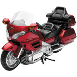 New Ray Die-Cast 2010 Honda Goldwing Motorcycle Toy Replica