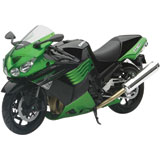 New Ray Die-Cast Kawasaki ZX14 Motorcycle Replica