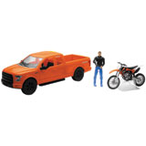New Ray Die-Cast Ford F-150 with KTM 350 SX-F