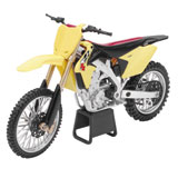 New Ray Die-Cast Suzuki RMZ450 Motorcycle Replica 1:12 Scale