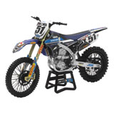 New Ray Die-Cast Yamaha YZ450F Barcia Motorcycle Replica