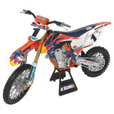 New Ray Die-Cast Red Bull Factory Race Team Ryan Dungey Championship Edition 450SX-F Motorcycle Replica