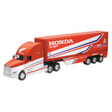 New Ray Die-Cast Team Honda HRC Factory Race Rig Replica