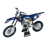 New Ray Die-Cast Yamaha YZ450F Cooper Web Motorcycle Replica