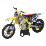 New Ray Die-Cast Suzuki RM-Z450 Travis Pastrana Nitro Circus Motorcycle Replica