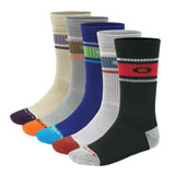 Oakley Performance Basic Crew Socks - 5 Pack