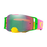 Oakley Front Line Goggle 2019 Flo Pink Yellow Frame/Prizm Jade Iridium Lens