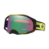 Oakley Airbrake Goggle Frequency Green Yellow Frame/Prizm Jade Iridium Lens