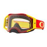 Oakley Airbrake Goggle Red Yellow Frame/Clear Lens