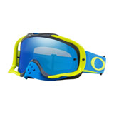 Oakley Crowbar Goggle Blue Green Frame/Black Ice Iridium Lens