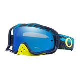 Oakley Crowbar Goggle Braking Bumps Blue Green Frame/Black Ice Iridium Lens
