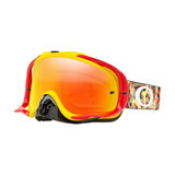Oakley Crowbar Goggle Camo Vine Jungle Red Yellow Frame/Fire Iridium Lens
