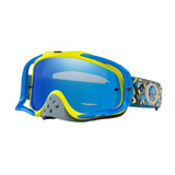 Oakley Crowbar Goggle Camo Vine Night Blue Green Frame/Black Ice Iridium Lens