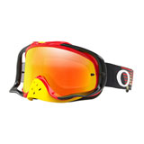 Oakley Crowbar Goggle Circuit Red Yellow Frame/Fire Iridium Lens
