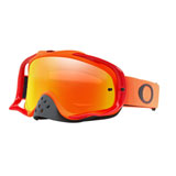 Oakley Crowbar Goggle Orange Red Frame/Fire Iridium Lens
