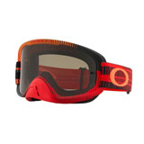 Oakley O Frame 2.0 Goggle Frequency Red Orange Frame/Dark Grey Lens