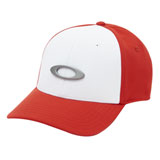 Oakley Tincan Flex Fit Hat White/Red