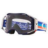 Oakley Airbrake Goggle TLD PreMix Navy Orange Frame/MTB Prizm Low Light Lens