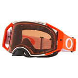 Oakley Airbrake Goggle Tuff Blocks White Orange Frame/Prizm Bronze Lens