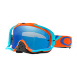 Oakley Crowbar Goggle Heritage Racer Orange Frame/Black Ice Iridium Lens
