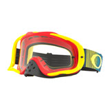 Oakley Crowbar Goggle Shockwave RYB Frame/Clear Lens