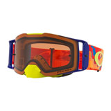 Oakley Front Line Goggle 2019 Thermo Camo Orange Red Frame/Prizm Bronze Lens