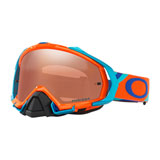Oakley Mayhem Pro Goggle 2017 Heritage Racer Orange Frame/Prizm MX Black Lens