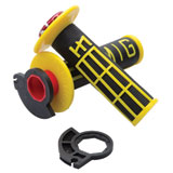 Odi V2 Emig MX Lock-On Grips Black/Yellow