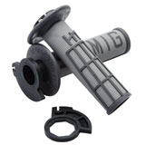 Odi V2 Emig MX Lock-On Grips Light Grey/Graphite