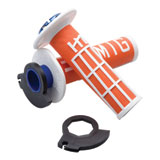 Odi V2 Emig MX Lock-On Grips Orange/White